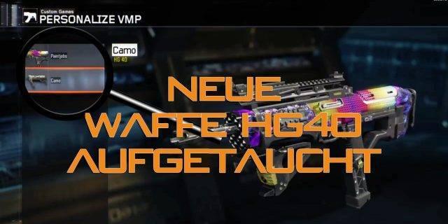 CoD:BO3 - Waffe HG40 nach neuem Patch entdeckt!