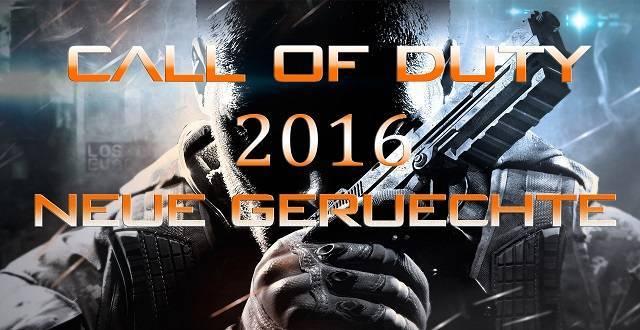 Es gibt neue Gerüchte zum kommenden Titel von Call of Duty 2016.
