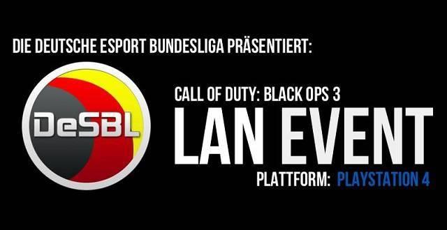 Black Ops 3 LAN der DeSBL Tickets AUSVERKAUFT