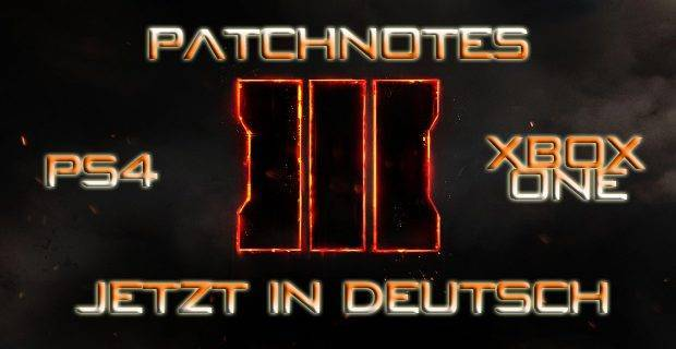 CoD:BO3 - Call of Duty: Black Op 3 Patchnotes Version 1.09 in Deutsch
