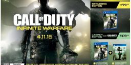 CoD:IW - Call of Duty: Infinite Warfare PS4 Pre Order Plakat