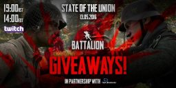 Battalion 1944 - Battalion 1944 – 'State of the Union' Giveaways