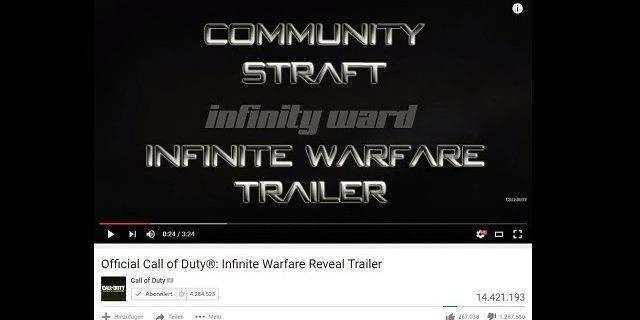 CoD:IW - Community straft Call of Duty: Infinite Warfare Trailer