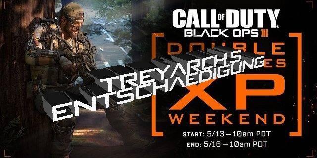 CoD:BO3 - Doppel XP Wochenende als Entschädigung von Treyarch