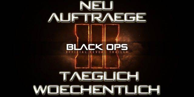 CoD:BO3 - Call of Duty: Black Ops 3 bekommt Schwarzmarkt Aufträge