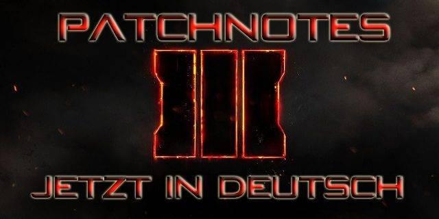 CoD:BO3 - Patchnotes (v. 1.11) für PS4 und Xbox One – Deutsch