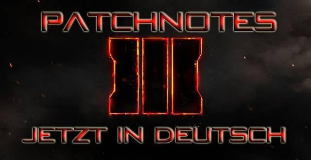 Patchnotes jetzt in Deutsch