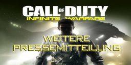 CoD:IW - Weitere Pressemitteilung Call of Duty: Infinite Warfare