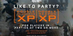 CoD:BO3 - Party Doppel XP startet heute