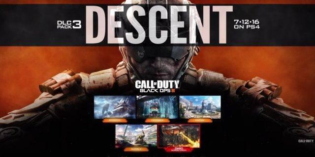 CoD:BO3 - Erste Screenshots aus dem dritten DLC Descent erschienen