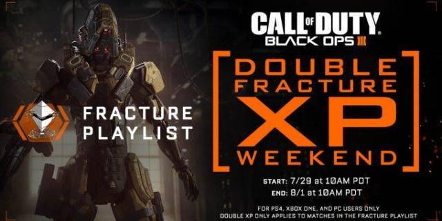 CoD:BO3 - Black Ops 3 – Fracture Playlist DOUBLE XP!