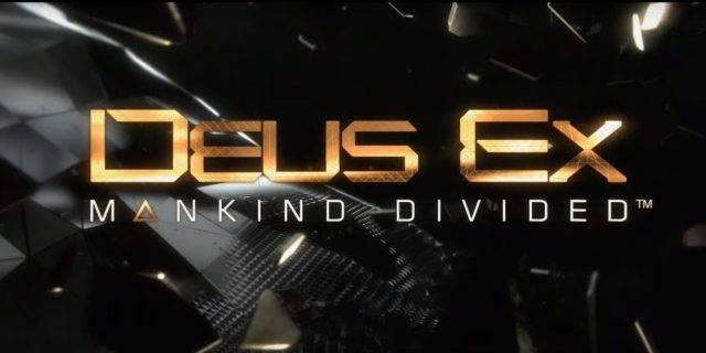 Deus Ex: Mankind Divided ab 23.08 im Handel