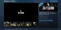 Battalion 1944 - Steamseite ist online und Early Access