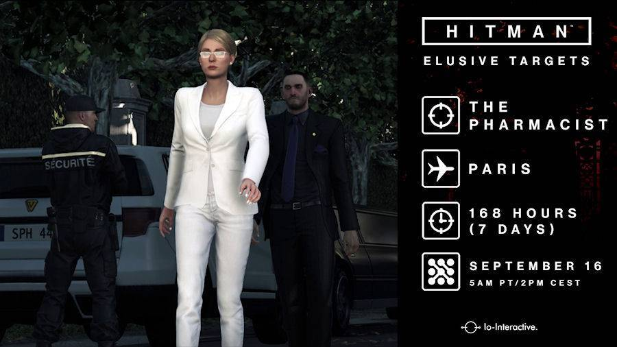 Hitman Elusive Target #10
