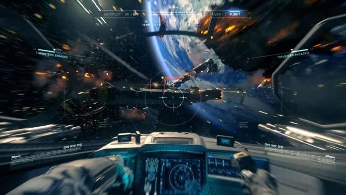 Szenen im All wird es in Call of Duty: Infinite Warfare genügend geben - eine Bonus-Kampagne schickt Euch sogar per VR-Brille ins All!