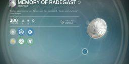 Destiny - Das Artefakt Memory of Radegast im Test