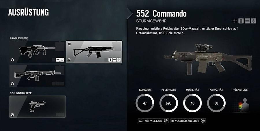 Rainbow Six Siege - Sturmgewehr
