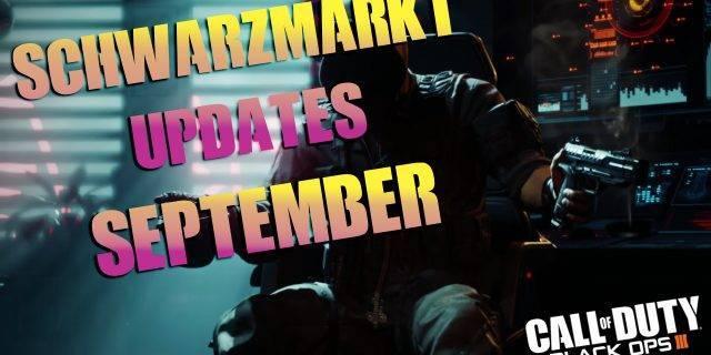 CoD:BO3 - Schwarzmarktupdates im September