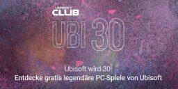 Ubisoft feiert seinen 30. Geburtstag
