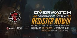 Overwatch - MSI Masters Gaming Arena 2016 – Meldet euch zum Overwatch Turnier an!