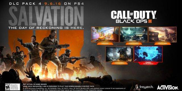 Call of Duty: Black Ops 3 Salvation Multiplayer Trailer