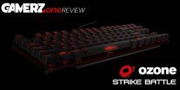 Review-Gewinnspiel: Gewinne die Tastatur STRIKE Battle von Ozone!