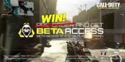 CoD:IW - Fanpakete inklusive BETA-Key für Infinite Warfare zu gewinnen!