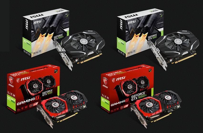 MSI GeForce® GTX 1050