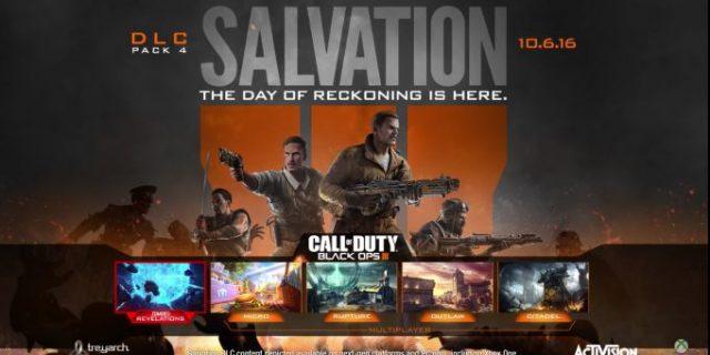 CoD:BO3 - Salvation DLC ab sofort für Xbox One und PC erhältlich