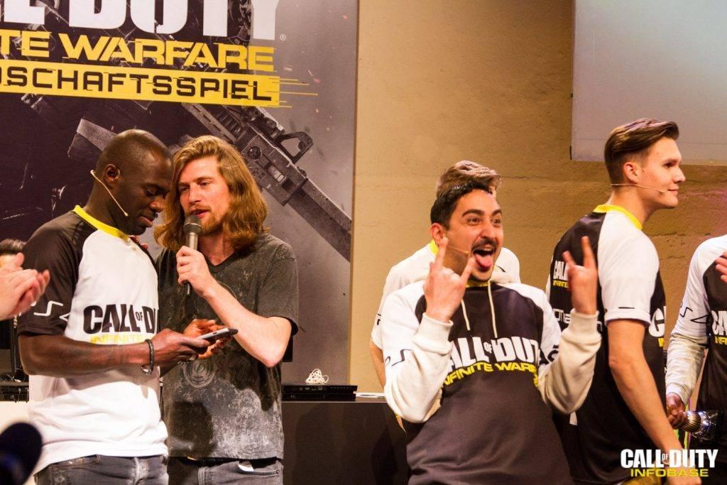 Ein, äh, überglücklicher Sieger: Eko Fresh!