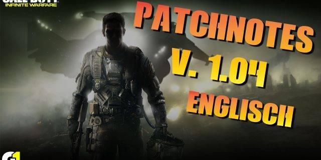 CoD:IW - Patchnotes (v.1.04) ENGLISCH   Was lange wärt wird endlich gut?