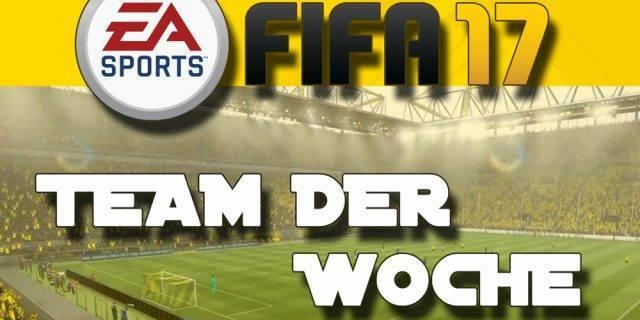 FIFA 17 - Team der Woche 34