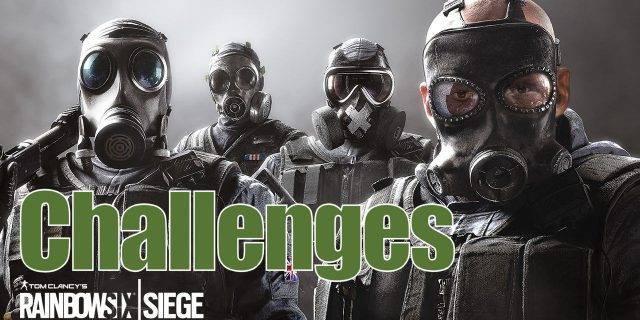 R6S - Zwei neue Challenges für Rainbow Six Siege