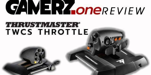 Der Thrustmaster TWCS Throttle im GAMERZ.one Review