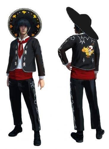 Final Fantasy XV - Karnevall Kostüm