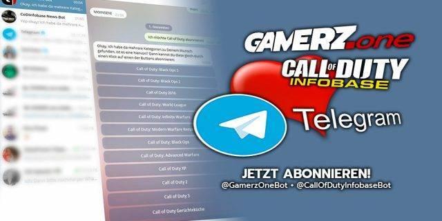 Ein großer Tag für uns: Der GAMERZ.one Telegram Bot ist online!