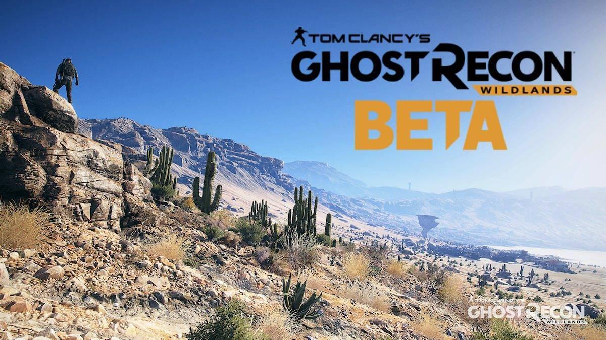 Ghost Recon Wildlands - Beta Registrierung