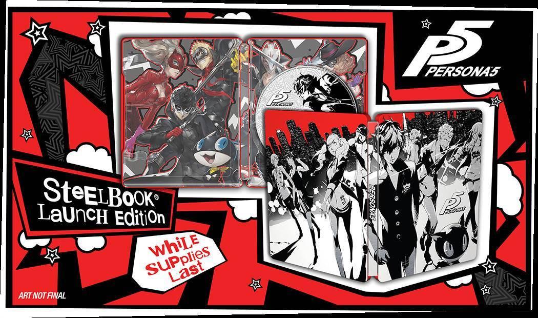 Persona 5 - Steelbook Edition