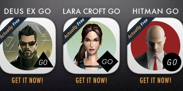 Vier mobile Square Enix Spiele kostenlos für Android auf Amazon Underground
