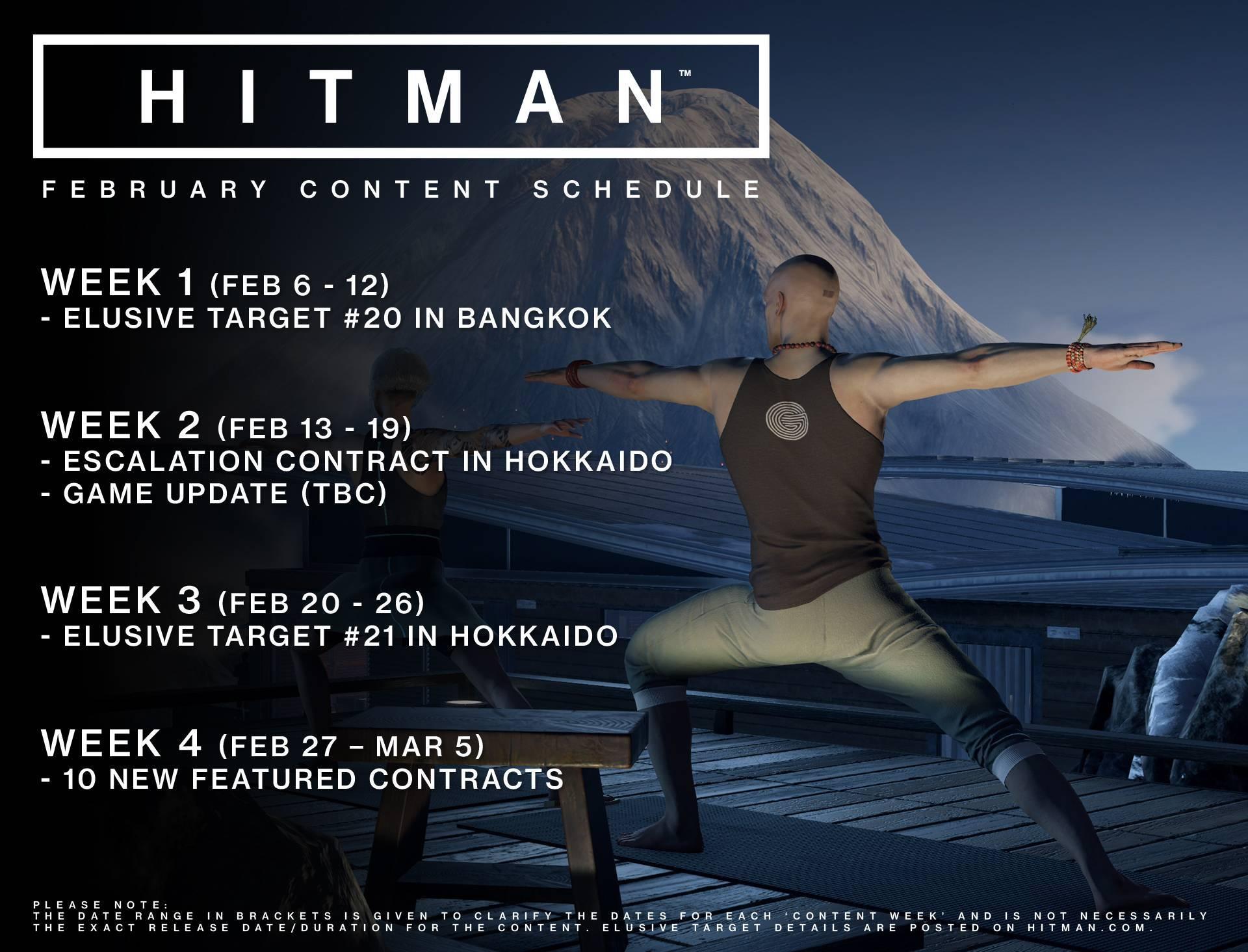 Hitman Februar Update