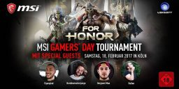 For Honor - MSI Gamers Day in Köln mit großem For Honor Turnier – unsere Eindrücke!