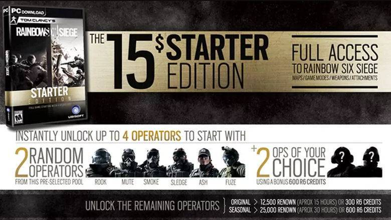 Rainbow Six Siege Starter-Edition