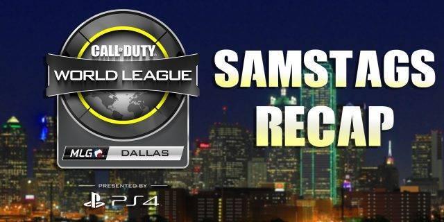 CoD:IW - CWL Dallas | Recap der Samstagsspiele