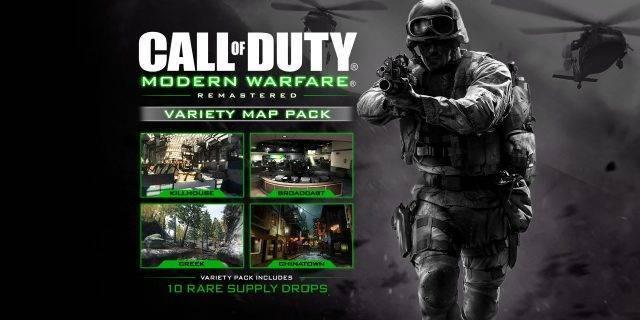 CoD:MW Remastered - Variety-Map-Pack ab dem 21. März auf PS4 verfügbar
