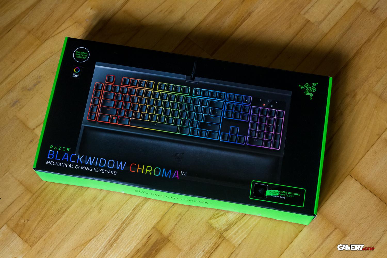Im GAMERZ one Review: Die Razer BlackWidow Chroma V2