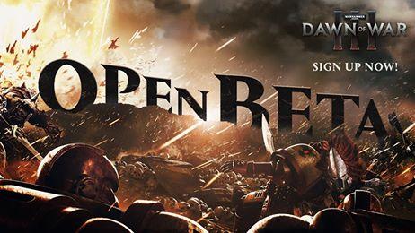 Dawn of War 3 - Open Beta vor Release angekündigt