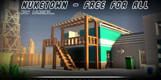 Lego Worlds - Remake der Map Nuketown aus Call of Duty aufgetaucht