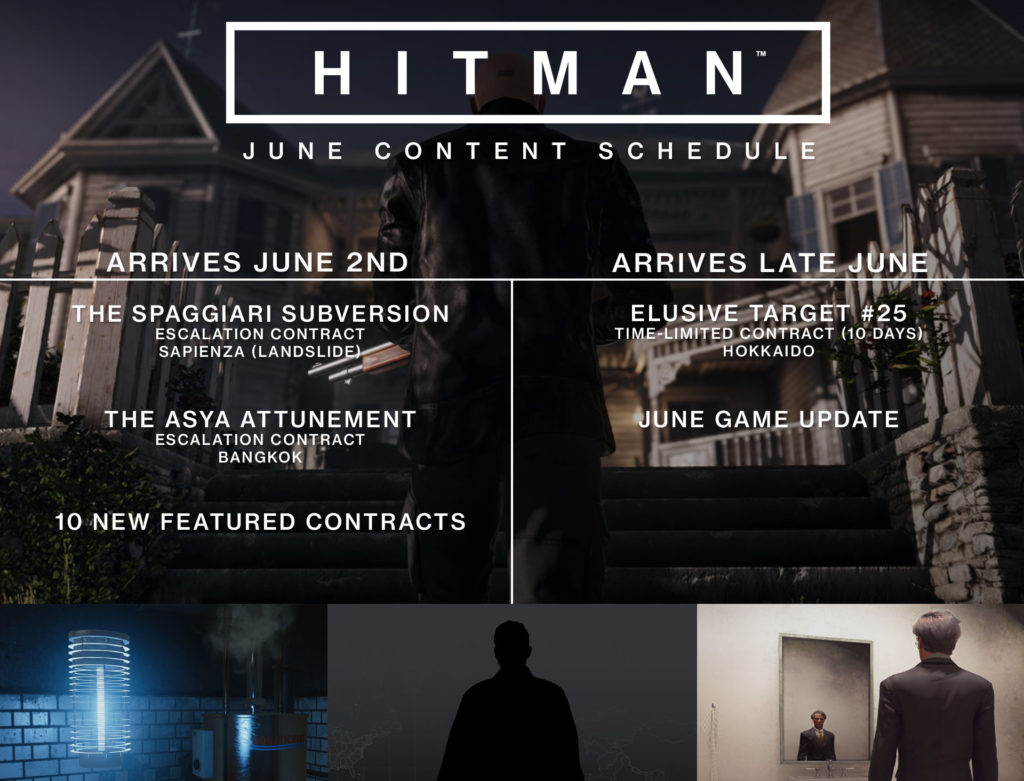 HITMAN Zeitplan für Juni