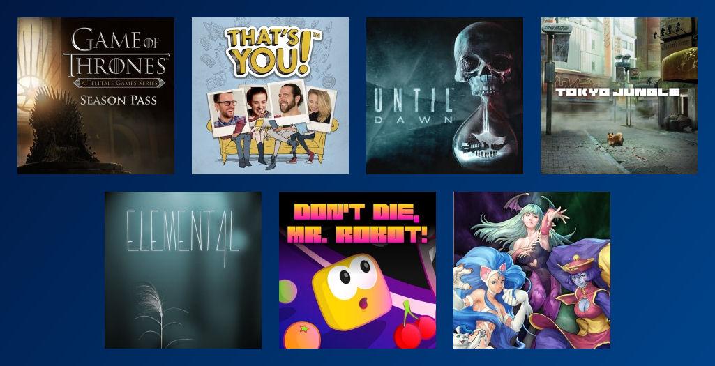 PS Plus Gratis-Spiele Juli 2017