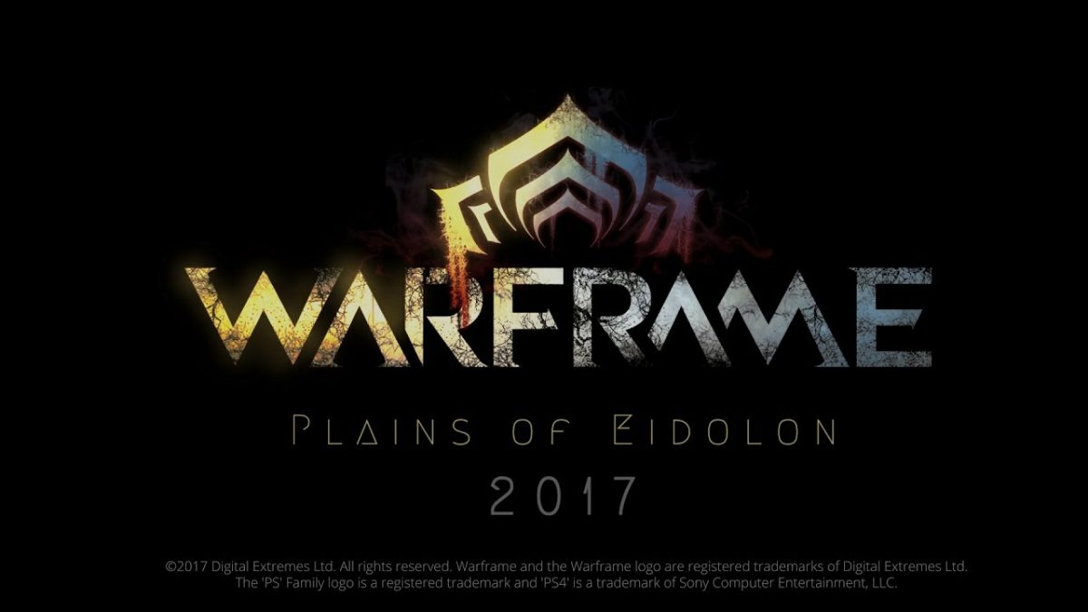 Warframe Plains of eidolon